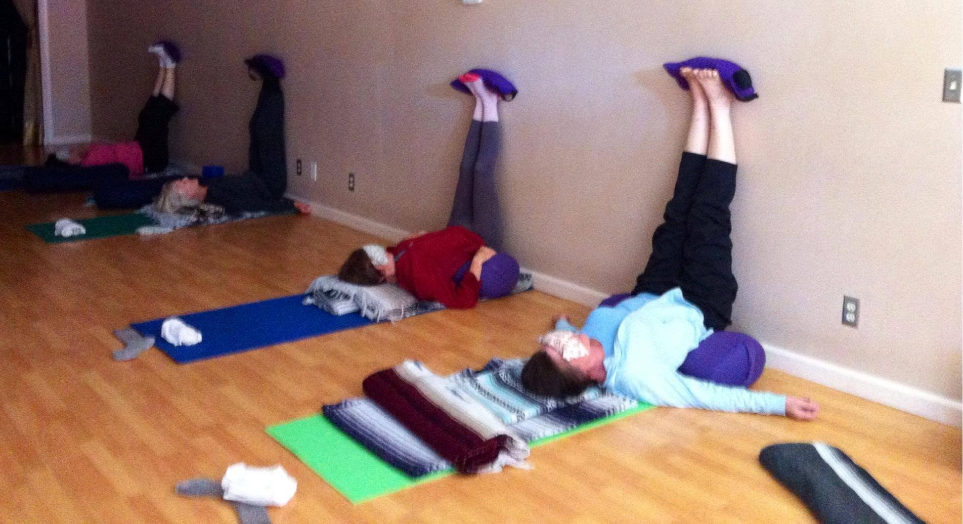 Restorative Yoga with Gail Saunders in Santa Rosa, California